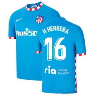 2021-2022 Atletico Madrid 3rd Shirt (H HERRERA 16)