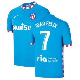 2021-2022 Atletico Madrid 3rd Shirt (JOAO FELIX 7)