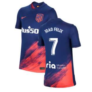 2021-2022 Atletico Madrid Away Shirt (Kids) (JOAO FELIX 7)