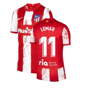 2021-2022 Atletico Madrid Home Shirt (Kids) (LEMAR 11)