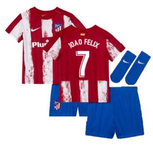 2021-2022 Atletico Madrid Infants Kit (JOAO FELIX 7)