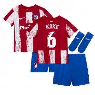 2021-2022 Atletico Madrid Infants Kit (KOKE 6)