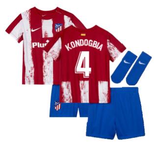 2021-2022 Atletico Madrid Infants Kit (KONDOGBIA 4)