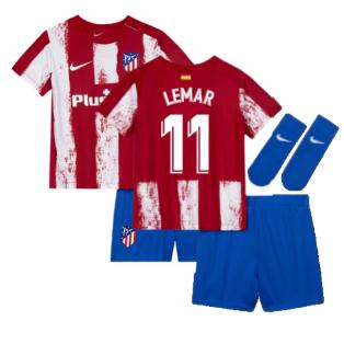 2021-2022 Atletico Madrid Infants Kit (LEMAR 11)
