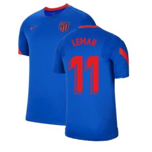 2021-2022 Atletico Madrid Training Shirt (Blue) (LEMAR 11)