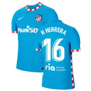 2021-2022 Atletico Madrid Vapor 3rd Shirt (H HERRERA 16)