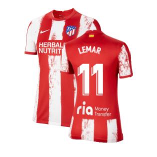 2021-2022 Atletico Madrid Womens Home Shirt (LEMAR 11)