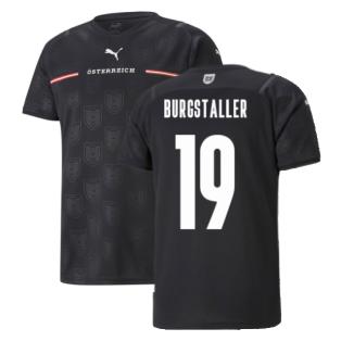 2021-2022 Austria Away Shirt (BURGSTALLER 19)