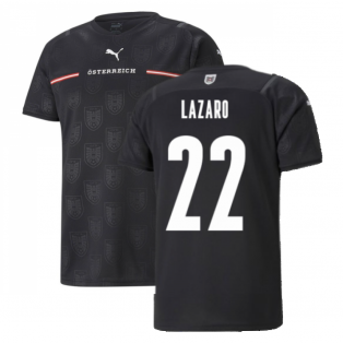 2021-2022 Austria Away Shirt (LAZARO 22)