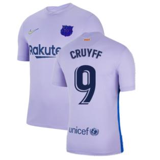 2021-2022 Barcelona Away Shirt (Kids) (CRUYFF 9)
