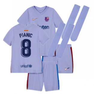 2021-2022 Barcelona Infants Away Kit (PJANIC 8)