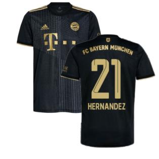 2021-2022 Bayern Munich Away Shirt (HERNANDEZ 21)