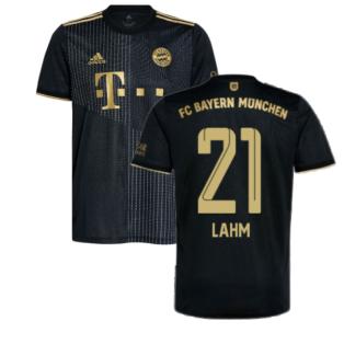 2021-2022 Bayern Munich Away Shirt (LAHM 21)