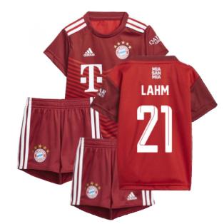 2021-2022 Bayern Munich Home Baby Kit (LAHM 21)