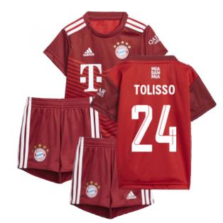 2021-2022 Bayern Munich Home Baby Kit (TOLISSO 24)