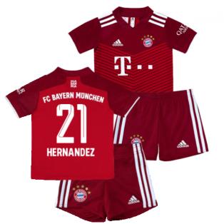 2021-2022 Bayern Munich Home Mini Kit (HERNANDEZ 21)