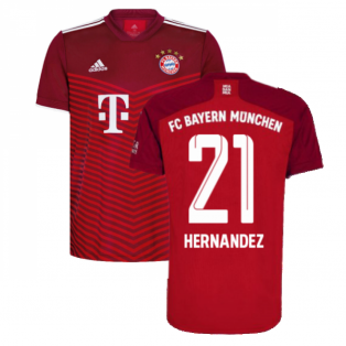 2021-2022 Bayern Munich Home Shirt (HERNANDEZ 21)