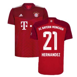 2021-2022 Bayern Munich Home Shirt (Kids) (HERNANDEZ 21)