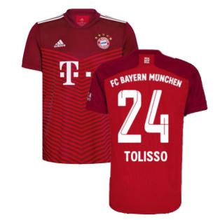 2021-2022 Bayern Munich Home Shirt (Kids) (TOLISSO 24)
