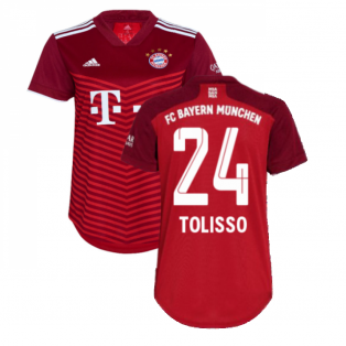 2021-2022 Bayern Munich Home Shirt (Ladies) (TOLISSO 24)