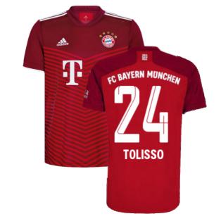 2021-2022 Bayern Munich Home Shirt (TOLISSO 24)