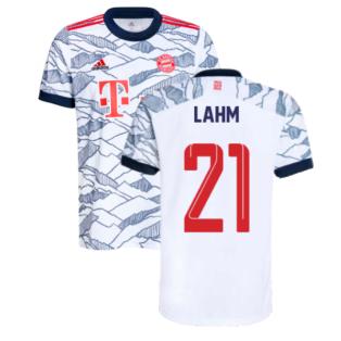 2021-2022 Bayern Munich Third Shirt (Kids) (LAHM 21)