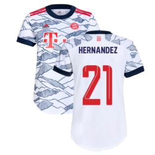 2021-2022 Bayern Munich Third Shirt (Ladies) (HERNANDEZ 21)