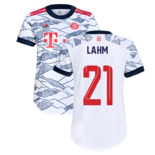 2021-2022 Bayern Munich Third Shirt (Ladies) (LAHM 21)