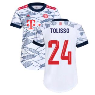 2021-2022 Bayern Munich Third Shirt (Ladies) (TOLISSO 24)