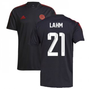 2021-2022 Bayern Munich Training Shirt (Grey) (LAHM 21)