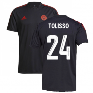 2021-2022 Bayern Munich Training Shirt (Grey) (TOLISSO 24)