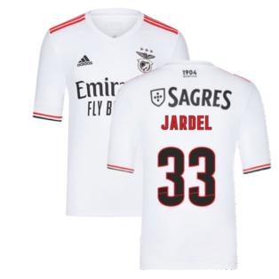2021-2022 Benfica Away Shirt (Kids) (JARDEL 33)