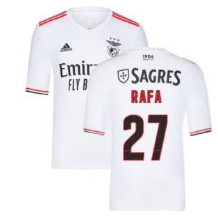 2021-2022 Benfica Away Shirt (Kids) (RAFA 27)