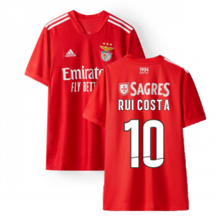 2021-2022 Benfica Home Jersey (RUI COSTA 10)