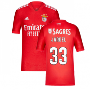 2021-2022 Benfica Home Shirt (JARDEL 33)