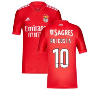 2021-2022 Benfica Home Shirt (RUI COSTA 10)