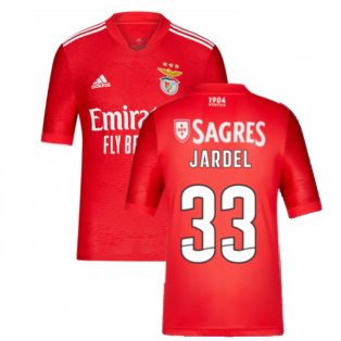 2021-2022 Benfica Home Youth Strip (JARDEL 33)