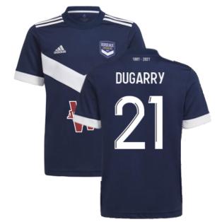 2021-2022 Bordeaux Home Shirt (Kids) (Dugarry 21)