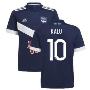 2021-2022 Bordeaux Home Shirt (Kids) (Kalu 10)