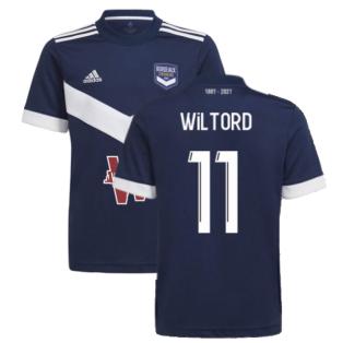 2021-2022 Bordeaux Home Shirt (Kids) (Wiltord 11)