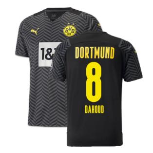 2021-2022 Borussia Dortmund Away Shirt (DAHOUD 8)