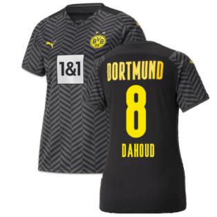 2021-2022 Borussia Dortmund Away Shirt (Kids) (DAHOUD 8)