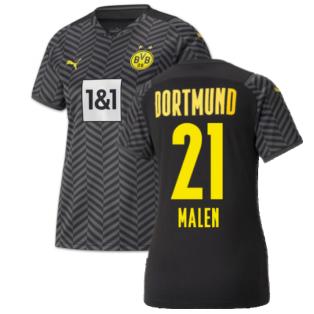 2021-2022 Borussia Dortmund Away Shirt (Kids) (MALEN 21)