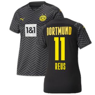2021-2022 Borussia Dortmund Away Shirt (Kids) (REUS 11)
