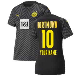 2021-2022 Borussia Dortmund Away Shirt (Kids) (Your Name)