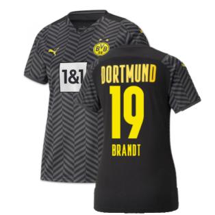 2021-2022 Borussia Dortmund Away Shirt (Ladies) (BRANDT 19)