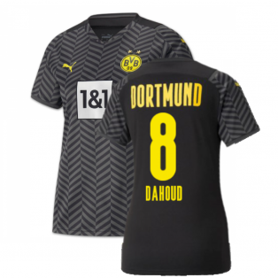 2021-2022 Borussia Dortmund Away Shirt (Ladies) (DAHOUD 8)