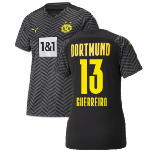 2021-2022 Borussia Dortmund Away Shirt (Ladies) (GUERREIRO 13)