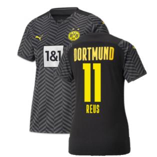 2021-2022 Borussia Dortmund Away Shirt (Ladies) (REUS 11)