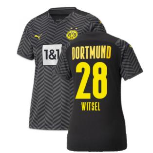 2021-2022 Borussia Dortmund Away Shirt (Ladies) (WITSEL 28)